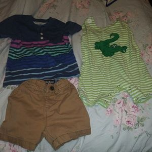 Preowned Baby Boy outfits, Size 9 month and 12 mts